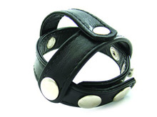 H2H BALL DIVIDER LEATHER T STYLE BLACK | PY27 | [category_name]