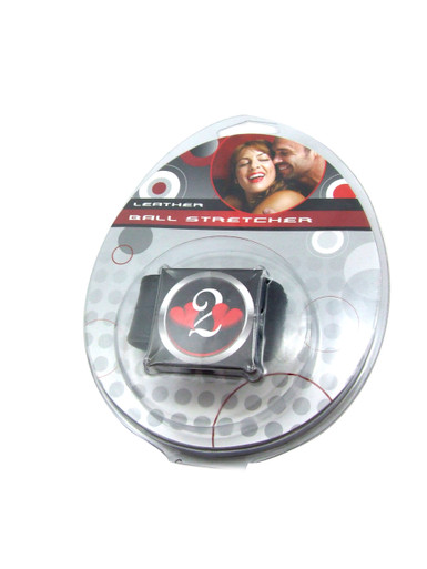 H2H BALL STRETCHER LEATHER VELCRO 1IN BLACK | PY72 | [category_name]