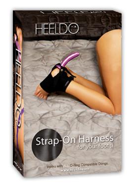 HEELDO FOOT HARNESS HERS S/M BLACK (NET) | HEELDOSMBLACK | [category_name]