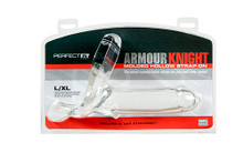 ARMOUR KNIGHT XL STRAP ON CLEAR
