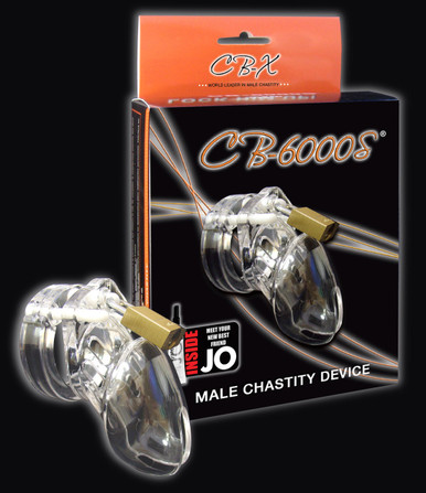 CHASTITY CLEAR SMALL 2 1/2IN COCK CAGE | CB6000CLS | [category_name]