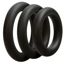 OPTIMALE 3 C-RING SET THICK BLACK | DJ069004 | [category_name]