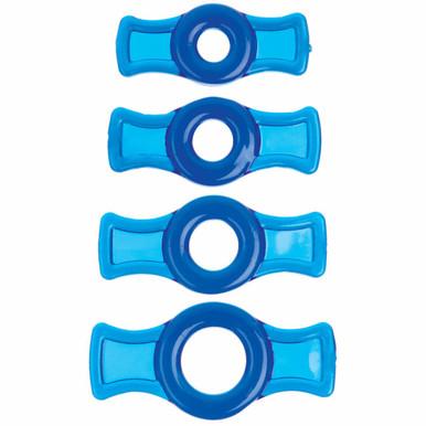 TITANMEN COCK RING SET BLUE CD | DJ350306 | [category_name]
