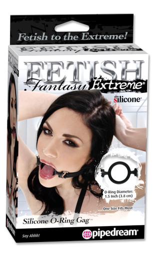 FETISH FANTASY EXTREME SILICONE O RING GAG   PD369923   [category_name]