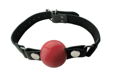 NICKEL FREE SILICONE BALL GAG LARGE RED | SPL07G3 | [category_name]