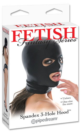 FETISH FANTASY SPANDEX 3 HOLE HOOD | PD385501 | [category_name]