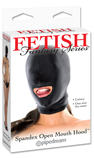 FETISH FANTASY SPANDEX OPEN MOUTH HOOD | PD385502 | [category_name]