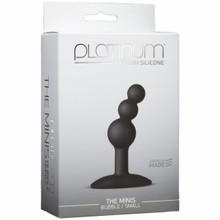 PLATINUM MINIS BUBBLE SMALL BLACK