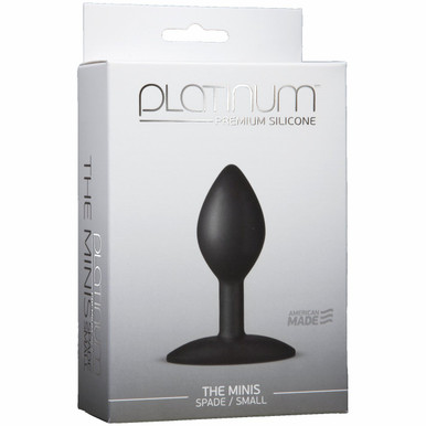 PLATINUM MINIS SPADE SMALL BLACK | DJ010348 | [category_name]