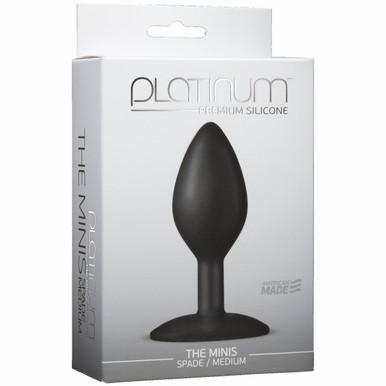 PLATINUM MINIS SPADE MEDIUM BLACK | DJ010350 | [category_name]