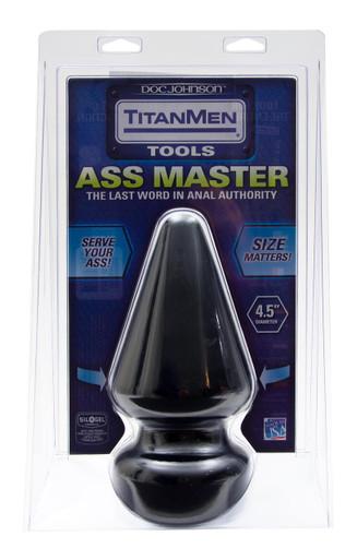 TITANMEN BUTT PLUG 4.5IN DIA. ASS MASTER | DJ320302 | [category_name]