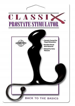 CLASSIX PROSTATE STIMULATOR BLACK | PD195023 | [category_name]