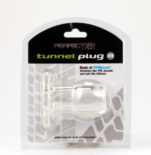 PERFECT FIT TOY TUNNEL PLUG MED ICE CLEAR | PERHP02C | [category_name]