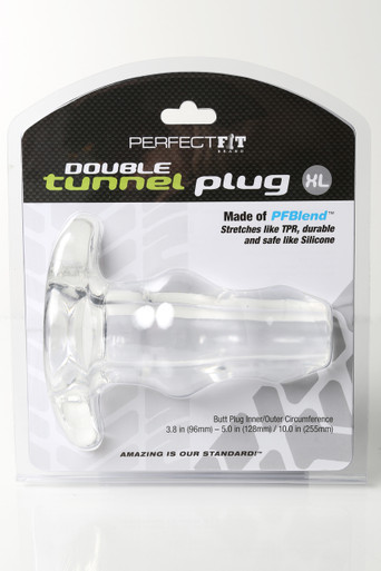 D-TUNNEL PLUG X LARGE ICE CLEAR   PERHP09C   [category_name]