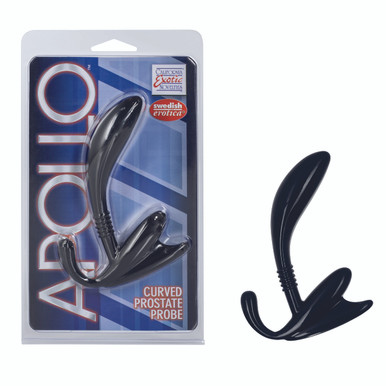 APOLLO CURVED PROSTATE PROBE BLACK | SE040930 | [category_name]
