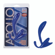 APOLLO CURVED PROSTATE PROBE BLUE