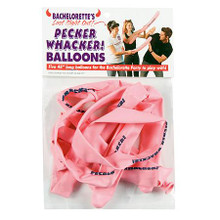 PECKER WHACKER BALLOONS | GE190 | [category_name]