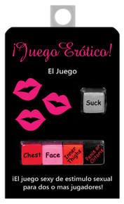 JUEGO EROTICO DICE GAME IN SPANISH   KHEBGR16   [category_name]