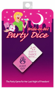 BRIDE TO BE PARTY DICE