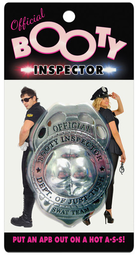 BOOTY INSPECTOR BADGE | KHENVS67 | [category_name]