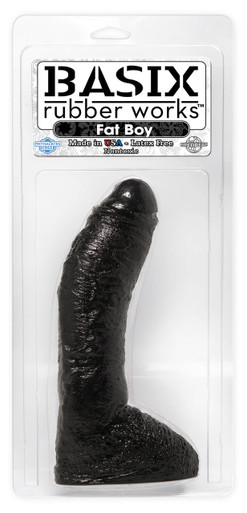 BASIX RUBBER WORKS 10IN FAT BOY BLACK | PD421023 | [category_name]