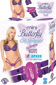 MINI BUTTERFLY CLIT TEASER PURPLE | NW22112 | [category_name]
