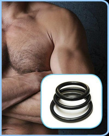 RUBBER COCK RINGS 3 PACK | KL673 | [category_name]