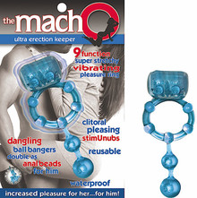 MACHO ULTRA ERECTION KEEPER BLUE