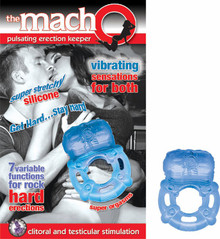 MACHO PULSATING ERECTION KEEPER BLUE | NW21282 | [category_name]