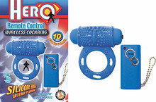 HERO REMOTE WIRELESS COCKRING BLUE