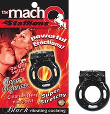 MACHO STALLIONS COCKRING BLACK VIB.   NW2368   [category_name]
