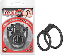 MACHO SILICONE DUO COCK & BALL RING | NW2475 | [category_name]