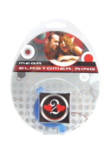 H2H COCK RING ELASTOMER LARGE BLUE | PY1206BLL | [category_name]