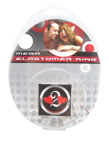 H2H COCK RING ELASTOMER LARGE CLEAR | PY1206CL | [category_name]