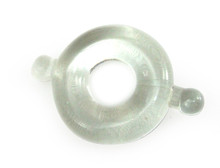 H2H COCK RING ELASTOMER MEDIUM CLEAR | PY1206CM | [category_name]