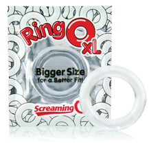 RING O XL CLEAR | SCRRNGOXL101 | [category_name]