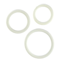 RUBBER RING WHITE 3PC SET | SE140709 | [category_name]