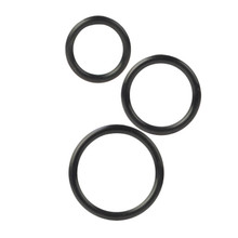 SILICONE SUPPORT RINGS BLACK | SE145525 | [category_name]