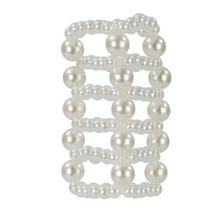 BASIC ESSENTIALS PEARL STROKER BEADS LARGE | SE172720 | [category_name]