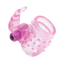 BASIC ESSENTIALS STRETCHY BUNNY ENHANCER VIBRATING | SE173904 | [category_name]