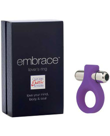 EMBRACE LOVERS RING PURPLE