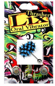 LIX THRASHER ORAL VIBRATOR BLUE