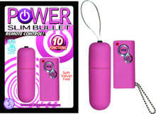 POWER SLIM BULLET REMOTE CONTROL PINK | NW23171 | [category_name]