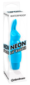 NEON LUV TOUCH LIL RABBIT BLUE