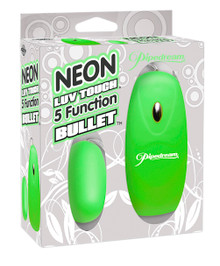 NEON LUV TOUCH BULLET GREEN 5 FUNCTION