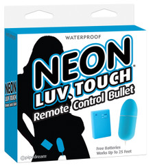NEON LUV TOUCH REMOTE CONTROL BULLET BLUE | PD267414 | [category_name]