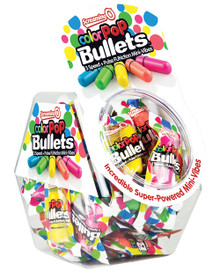 COLOR POP BULLETS 40PC FISHBOWL