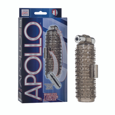 APOLLO WIRELESS 7 FUNCTION STROKER SMOKE | SE096710 | [category_name]