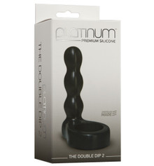 PLATINUM SILICONE DOUBLE DIP 2 BLACK