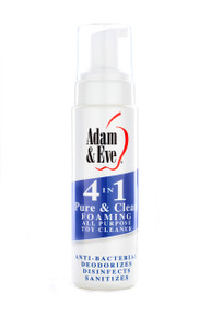ADAM & EVE PURE & CLEAN FOAMING TOY CLEANER 8OZ | ENAELQ56832 | [category_name]